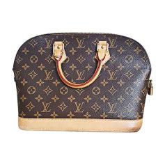 Leather Handbag LOUIS VUITTON Beige, camel