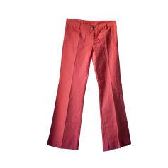 Pantalon évasé MAJE Rose, fuschia, vieux rose