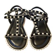 Flat Sandals VALENTINO Black