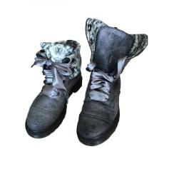 Chaussures à lacets  DR. MARTENS Gris, anthracite