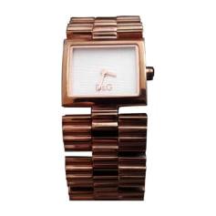 Wrist Watch DOLCE & GABBANA Golden, bronze, copper