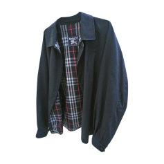Zipped Jacket BURBERRY Blue, navy, turquoise