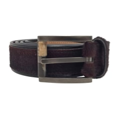 Belt SALVATORE FERRAGAMO Red, burgundy