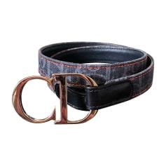 Skinny Belt DIOR Blue, navy, turquoise