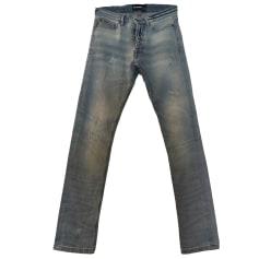 Jeans slim THE KOOPLES Bleu clair délavé