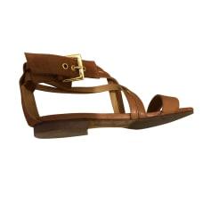 Sandales plates  SÉZANE Beige, camel