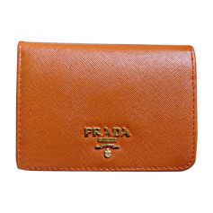 Wallet PRADA Orange