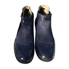 Ankle Boots JEAN BAPTISTE RAUTUREAU Blue, navy, turquoise