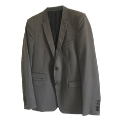 Veste de costume THE KOOPLES Gris, anthracite