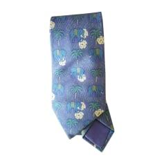 Tie HERMÈS Purple, mauve, lavender