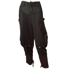Wide Leg Pants MARITHÉ ET FRANÇOIS GIRBAUD Black