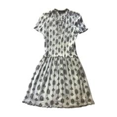 Mini Dress ISABEL MARANT White, off-white, ecru