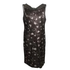 Midi Dress MAX MARA Gray, charcoal