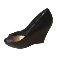 Wedge Sandals SERGIO ROSSI Black