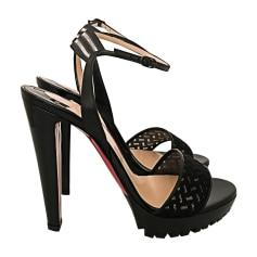 Heeled Sandals CHRISTIAN LOUBOUTIN Black