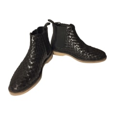 Bottines & low boots plates STEPHANE KÉLIAN Noir