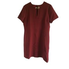 Midi Dress GERARD DAREL Red, burgundy