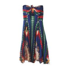 Robe bustier ANNA SUI Multicouleur