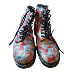 Bottines & low boots plates DR. MARTENS Multicouleur