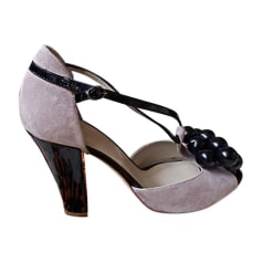 Heeled Sandals SONIA RYKIEL Pink, fuchsia, light pink