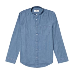 Shirt DE FURSAC Blue, navy, turquoise