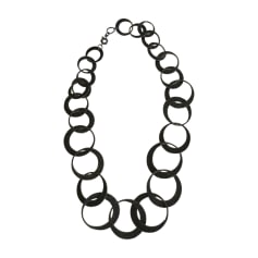 Long Necklace KENZO Gray, charcoal