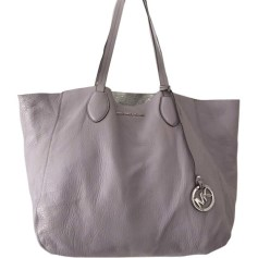 Leather Handbag MICHAEL KORS Purple, mauve, lavender