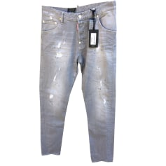Straight-Cut Jeans  DSQUARED2 Grau, anthrazit