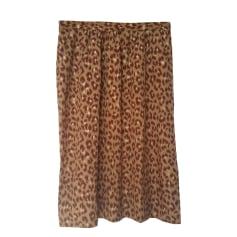 Midi Skirt DES PETITS HAUTS Animal prints