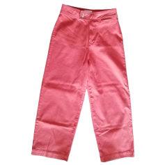 Jeans évasé, boot-cut SÉZANE Rouge, bordeaux
