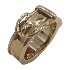Ring HERMÈS Golden, bronze, copper