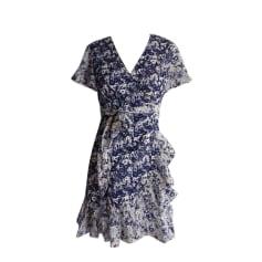 Mini-Kleid BA&SH Blau, marineblau, türkisblau