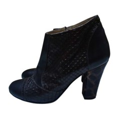 High Heel Ankle Boots ROSEANNA Brown