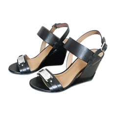 Wedge Sandals MARC JACOBS Black