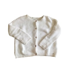 Gilet, cardigan DES PETITS HAUTS Bianco, bianco sporco, ecru
