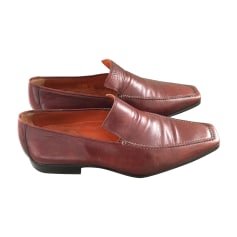 Loafers SERGIO ROSSI Red, burgundy