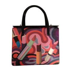 Leather Handbag PRADA Multicolor