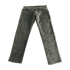Straight Leg Jeans DOLCE & GABBANA Gray, charcoal