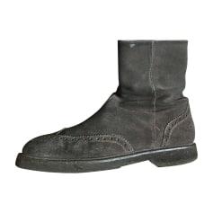 Boots GIORGIO ARMANI Gray, charcoal