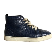 Sneakers CHRISTIAN LOUBOUTIN Blue, navy, turquoise