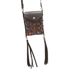 Leather Shoulder Bag ISABEL MARANT Black