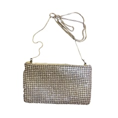 Non-Leather Shoulder Bag MAJE Silver