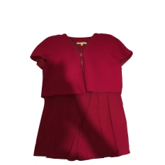 Top, tee-shirt MAJE Rose, fuschia, vieux rose