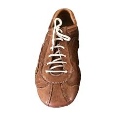 Sneakers PRADA Beige, camel