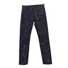 Jeans slim TOMAS MAIER Blu, blu navy, turchese