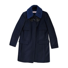 Cappotto SEE BY CHLOE Blu, blu navy, turchese