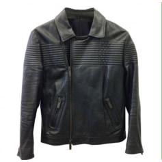 Leather Jacket K KARL LAGERFELD Black