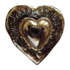 Anstecknadel YVES SAINT LAURENT Gold, Bronze, Kupfer