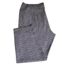 Pantalon droit ELENA MIRO Multicouleur