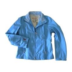 Parka PRADA Blue, navy, turquoise